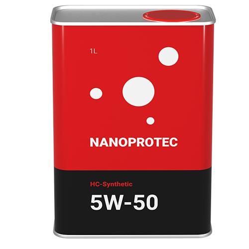Моторне масло Nanoprotec 5W-50 HC-Synthetic 1 л