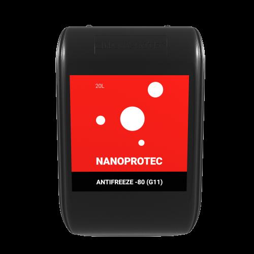 Антифриз Nanoprotec Antifreeze -80 (G11) 20 л