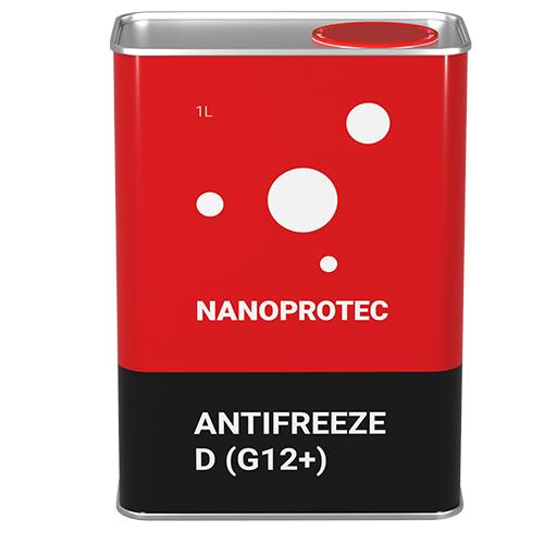 Антифриз Nanoprotec Antifreeze D (G12 +) 1л.