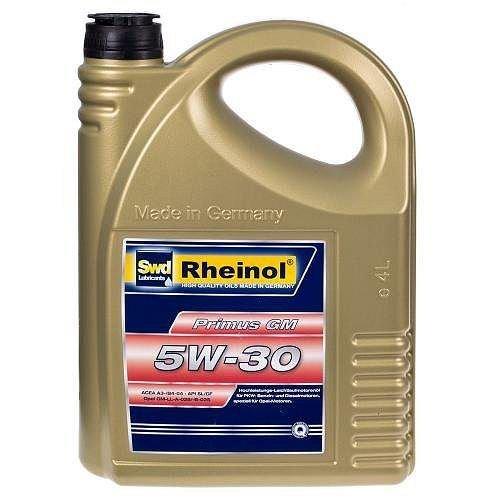 Моторное масло Rheinol Primus GM 5W-30 4 л