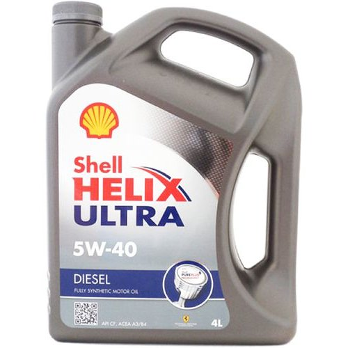 Моторное масло Shell Helix Ultra Diesel 5W-40 4л.