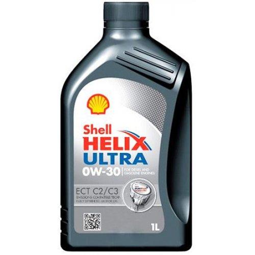 Моторна олива Shell Helix Ultra ECT C2 / C3 0W-30 1л.