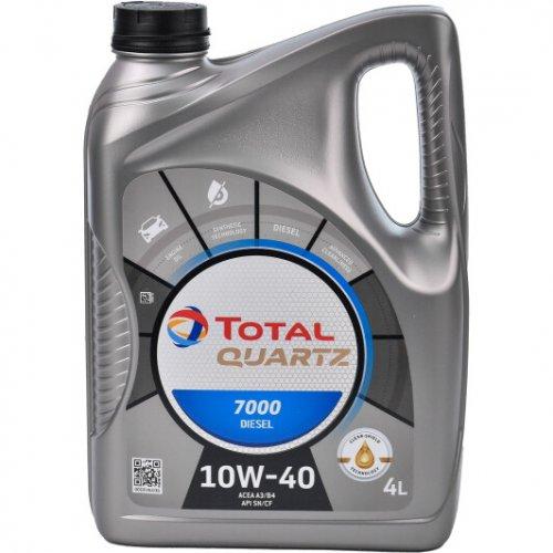 Моторна олива Total Quartz 7000 Diesel 10W-40 4л.