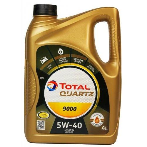 Моторна олива Total Quartz 9000 5W-40 4 л