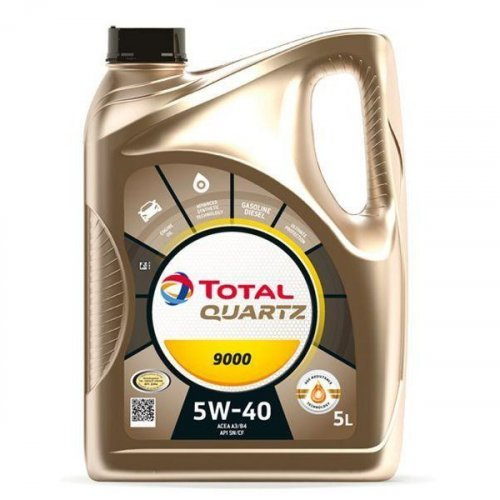 Моторное масло Total Quartz 9000 5W-40 5л.