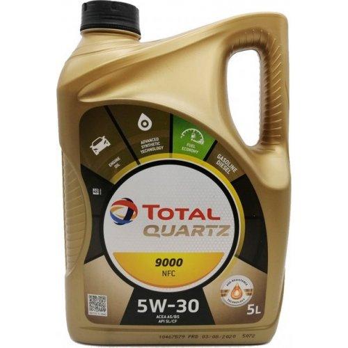 Моторное масло Total Quartz Future NFC 5W-30 5 л