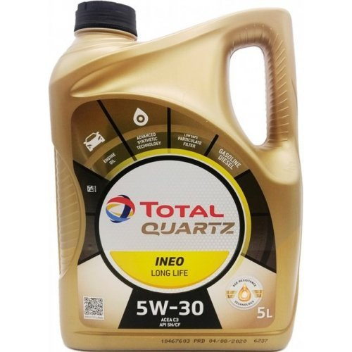 Total Quartz Ineo Long Life 5W-30 5л.