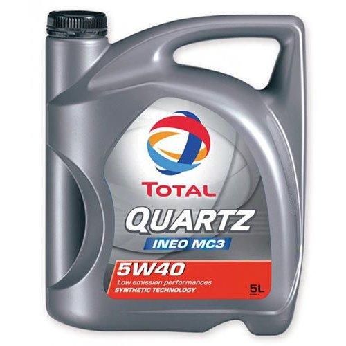 Моторна олива Total Quartz Ineo MC3 5W-40 5 л