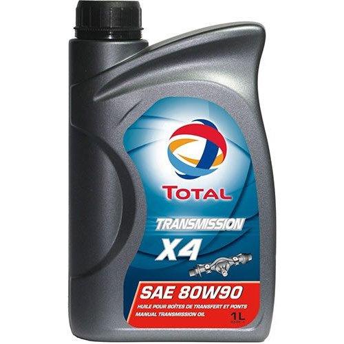 Трансмиссионное масло Total Transmission X4 80W-90 1л.