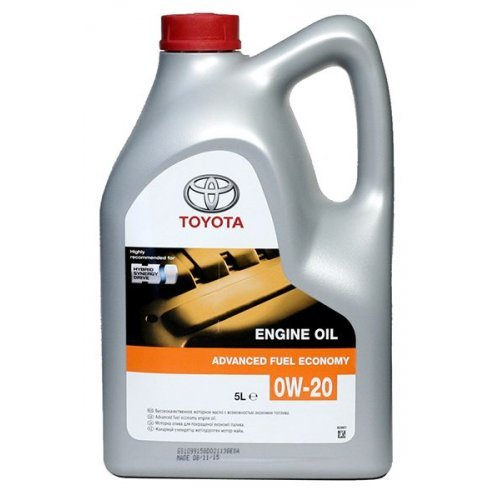 Toyota Advanced Fuel Economy Engine Oil 0W-20 5л.