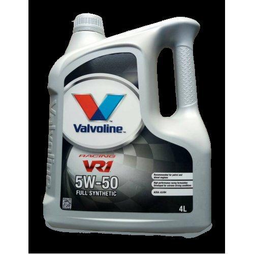 Моторное масло Valvoline VR1 Racing 5W-50 4л.