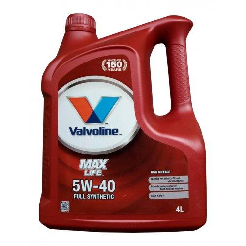 Моторна олива Valvoline Maxlife 5W-40 4л.