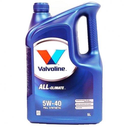 Valvoline All Climate 5W-40 5л.