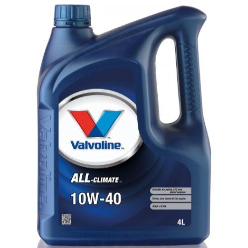 Моторна олива Valvoline All-Climate 10W-40 4л.