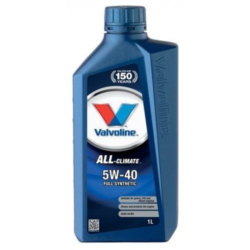 Моторное масло Valvoline All Climate 5W-40 1л.
