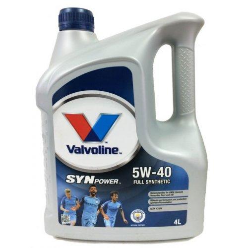 Моторна олива Valvoline Synpower 5W-40 4 л